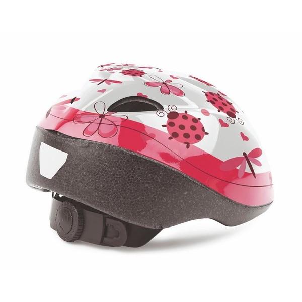 Cycle Tech kinderhelm lieveheersbeestje roze/wit maat 46 53 cm