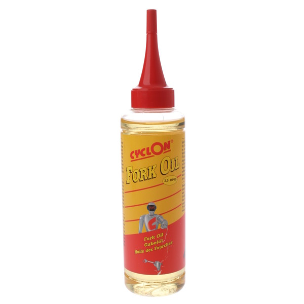 Cyclon vorkolie Fork Oil 5HP10 druppelfles 125 ml