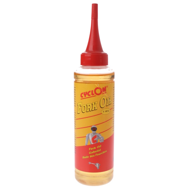 Cyclon vorkolie Fork Oil 5HP15 druppelfles 125 ml