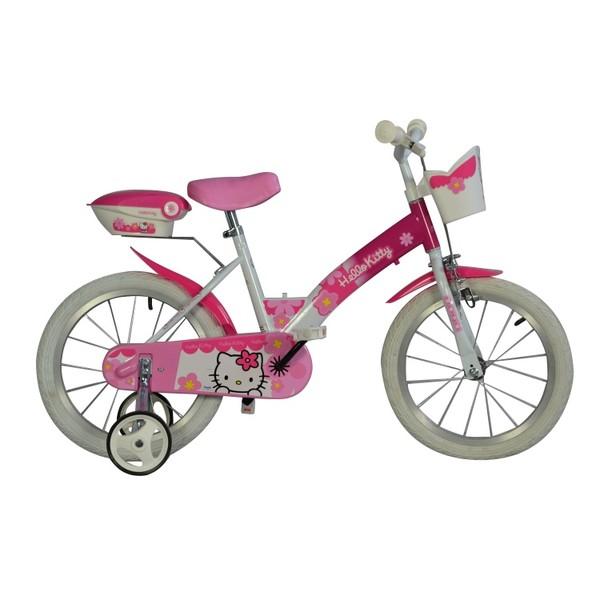 Dino 156NK HK Hello Kitty 16 Inch 27 cm Meisjes Terugtraprem Roze