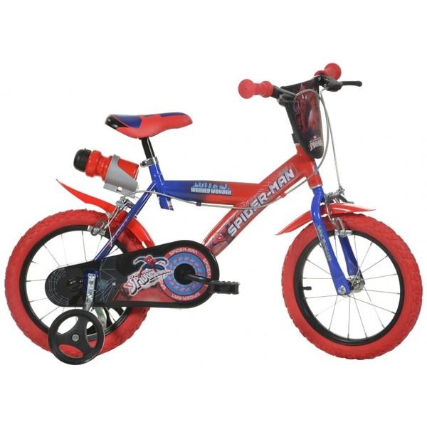 Dino 163G Spiderman 16 Inch 27 cm Jongens Knijprem Rood