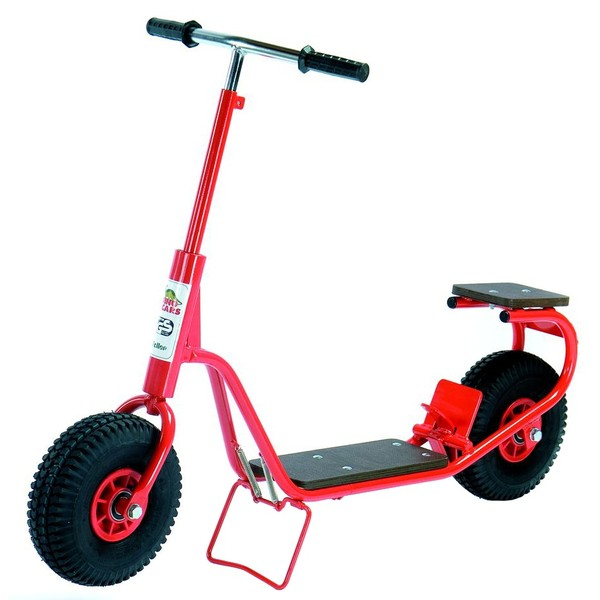 Dino Cars Autoped Scooter 0202 Junior Voetrem Rood thumbnail