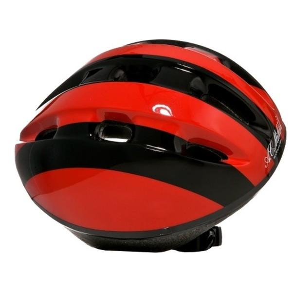 Dino Fietshelm AC Milan kind rood/zwart maat 52/56 cm