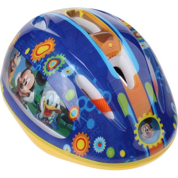 Disney kinderhelm Mickey Mouse junior blauw maat 52/56 cm