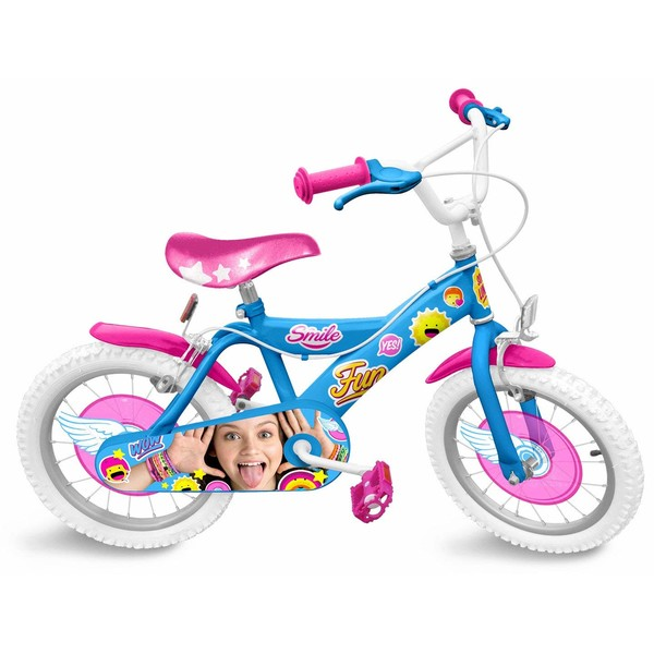Disney Soy Luna 16 Inch 26 cm Meisjes V Brake Blauw/Roze