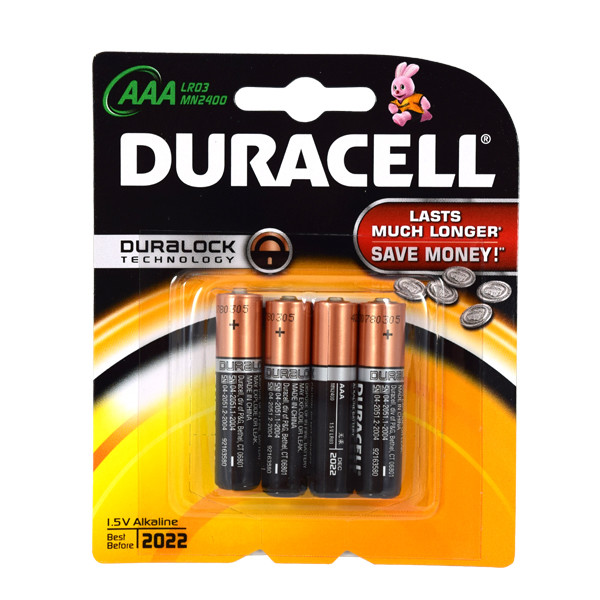 Duracell Batterij Lr03 Aa Mn2400 1,5volt 4stuks