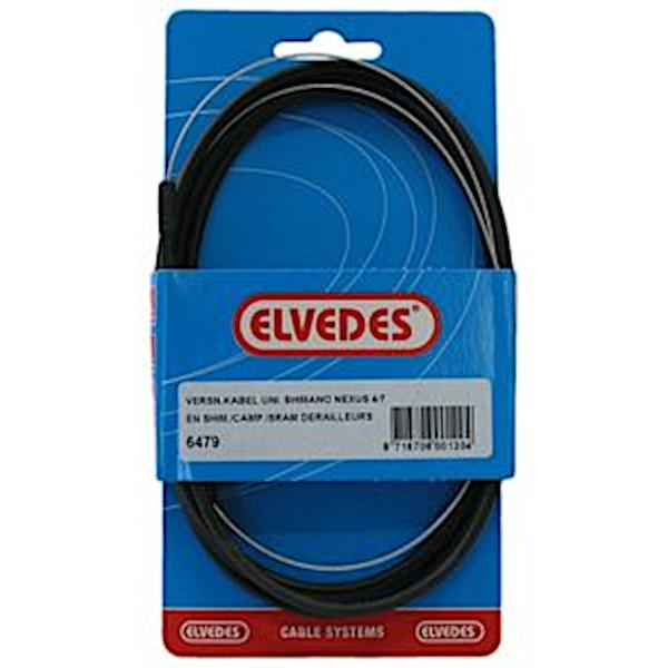 Elvedes versn kabel Nexus rvs zwart