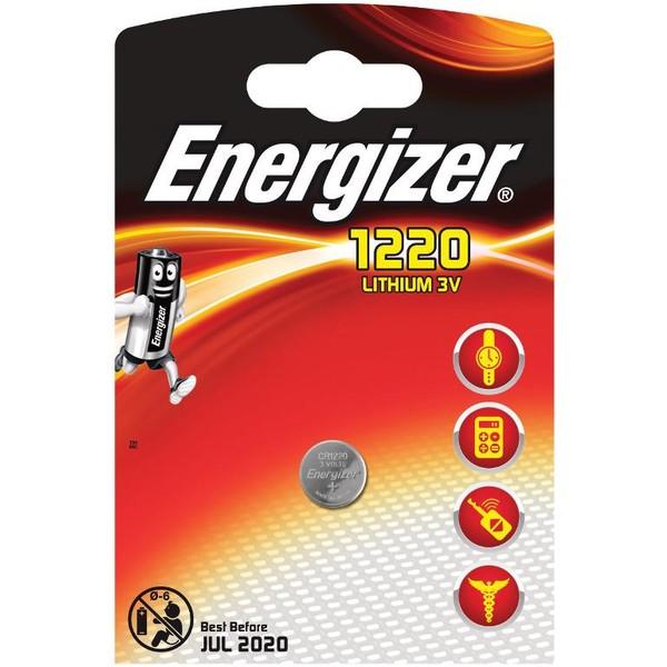 Energizer Knoopcel CR 1220 Lithium 40 mAh 3 V 1 stuks