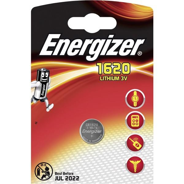 Energizer Knoopcel CR 1620 Lithium 79 mAh 3 V 1 stuks
