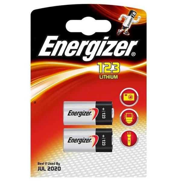 Energizer Batterij Energizer E2 CR123-BS 2 (626908)
