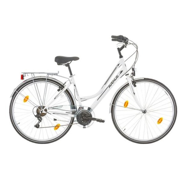 Expert Avenue 28 Inch 46 cm Dames 18V V Brake Wit