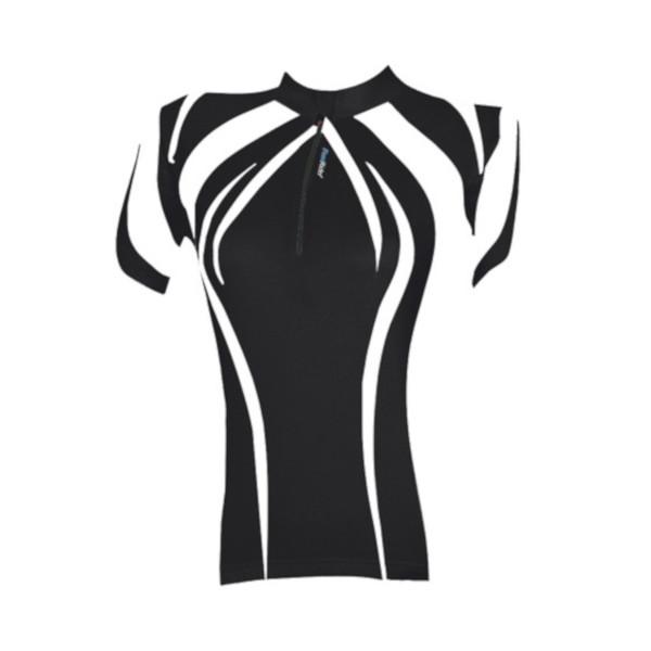 Fastrider Shirt Feel Dames Zwart Maat XS