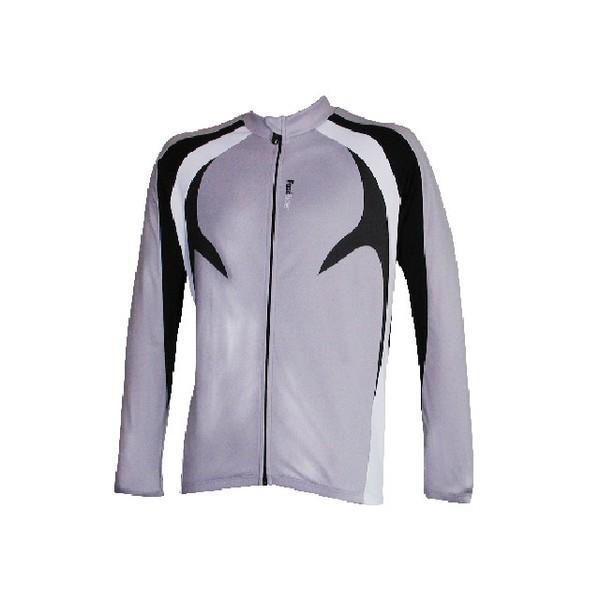 Fastrider Shirt Kite Lange Mouw Frost grijs Maat S