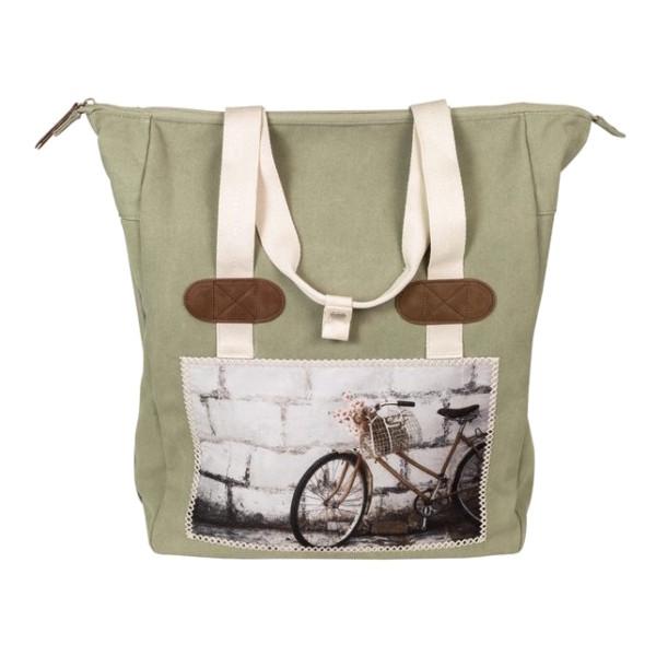 FastRider Shopper pakaf fietstas CYCLO groen