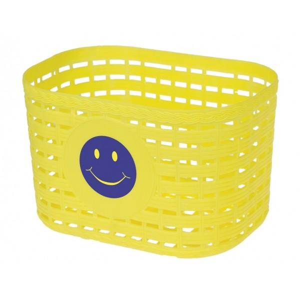 M Wave fietsmand smiley junior 3,5 liter geel Onderdelen & Accessoires aanschaffen doe je het voordeligst hier