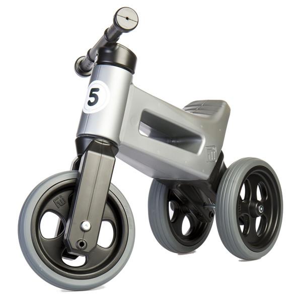 Funny Wheels Rider Sport Cool loopfiets Junior Grijs