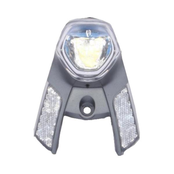 Gazelle koplamp Innergy E bike voorvork zilver 13 cm
