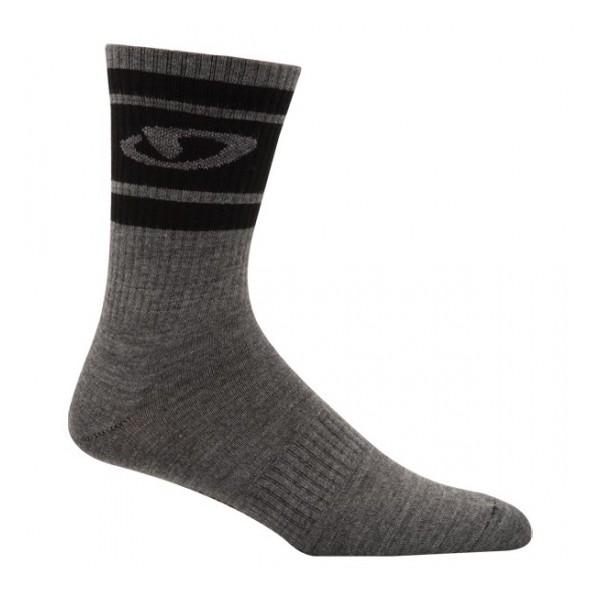 Giro Merino Seasonal Wool Sok Grijs Maat 36/39