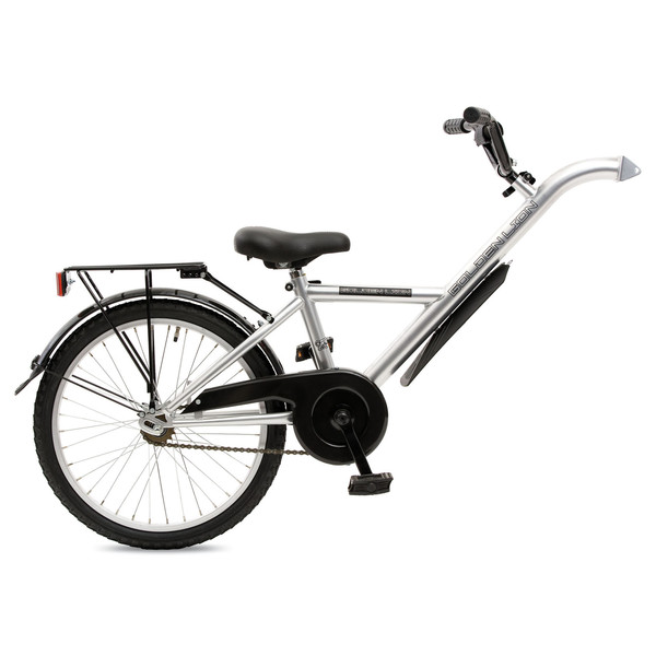 Golden Lion aanhangfiets 20 Inch Junior Zilver