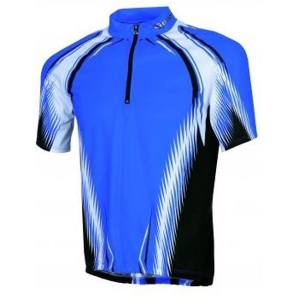Gonso Fietsshirt Mikeno Heren Blauw Maat S
