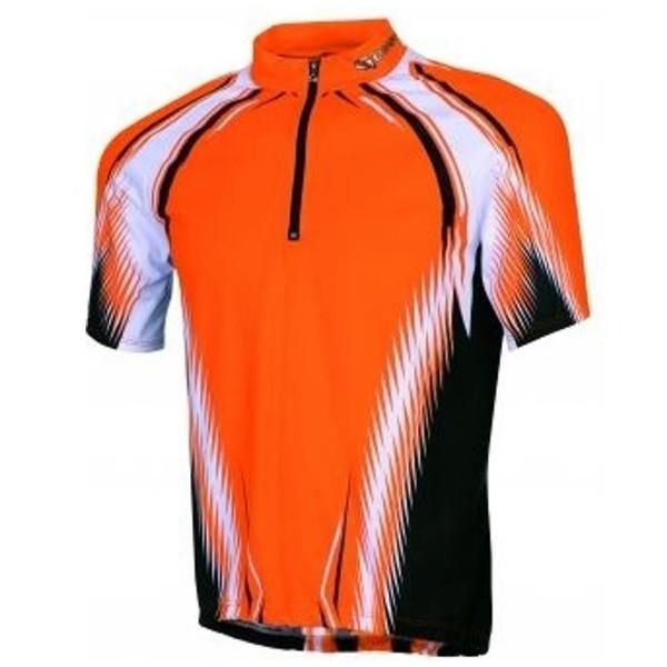 Gonso Fietsshirt Mikeno Heren Oranje Maat S