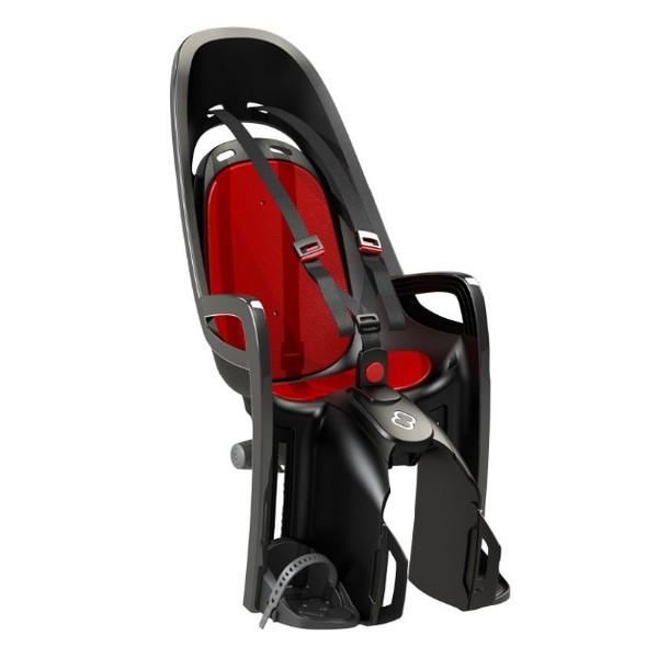 Hamax fietszitje achter met adapter voor bagagedrager zwart/ rood