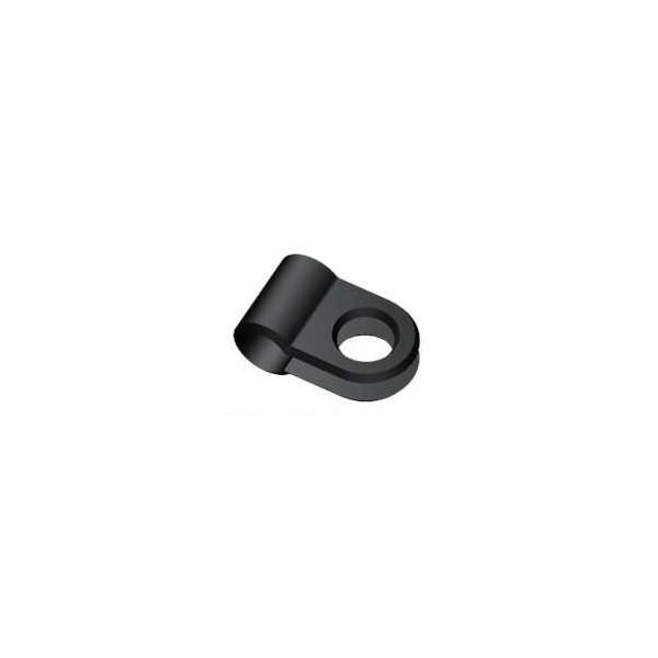 Herrmans Kabelhouder Single 4 5mm Zwart