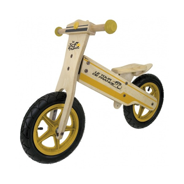 Kids Club Loopfiets Tour de France 12 Inch Junior Geel