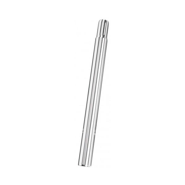 Ergotec Zadelpen vast kaars 25,2 x 300 mm aluminium zilver