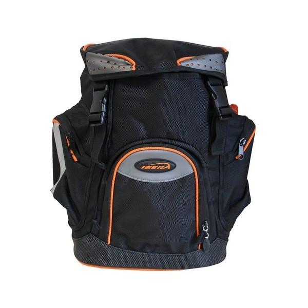 Ibera pakaftas IB BA4 zwart/oranje 30 liter