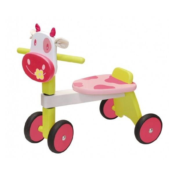 I'm Toy Loopfiets Koe Meisjes Roze thumbnail