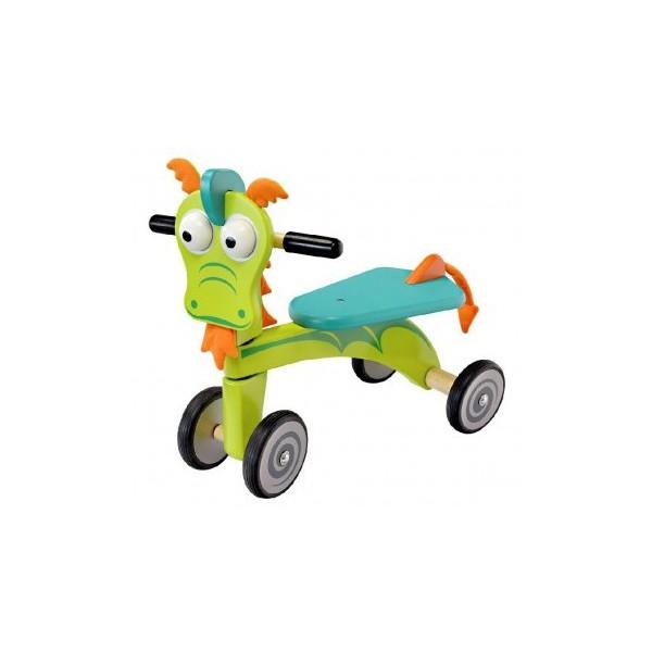 I'm Toy Loopfiets Draak Junior Groen/Blauw thumbnail