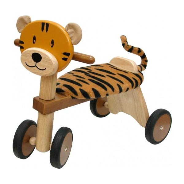 I'm Toy Loopfiets Tijger Junior Bruin/Blank