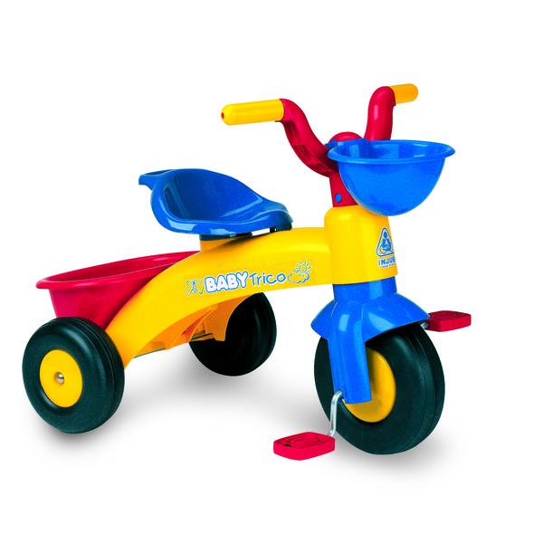 Injusa driewieler Baby Trico Max Junior Geel