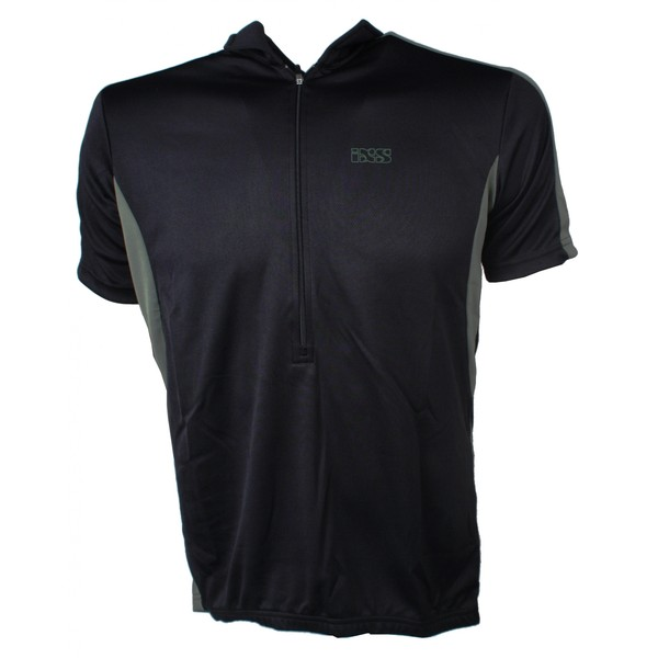 IXS Fietsshirt Cusco Basic Comp heren zwart maat XL