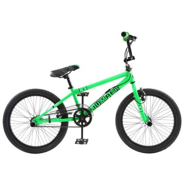 Winner BMX fiets 20 Inch 44 cm Unisex V Brake Groen