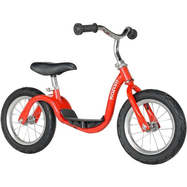 Kazam loopfiets 12 Inch Junior Rood