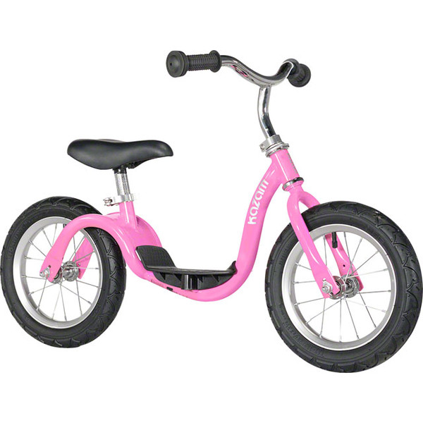 Kazam loopfiets 12 Inch Junior Roze