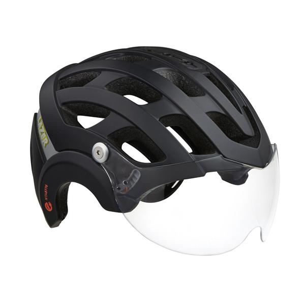 Lazer Anverz NTA E-Bike helm met LED mat zwart