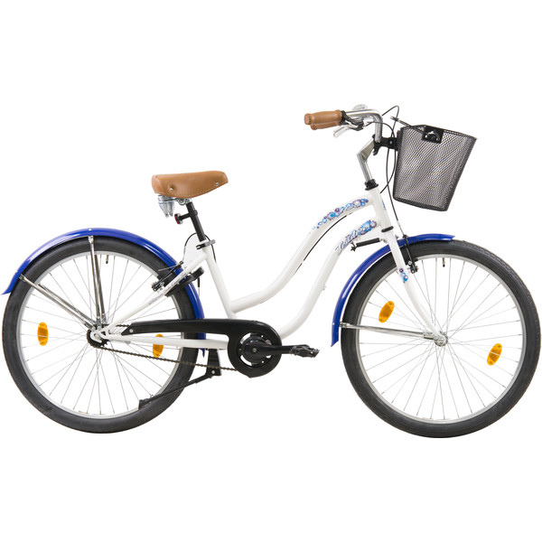 Leader Flora 26 Inch 41 cm Dames V Brake Wit