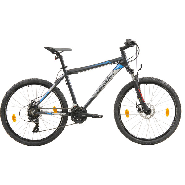 Leader Manta 26 Inch 48 cm Heren 21V V Brake Grijs