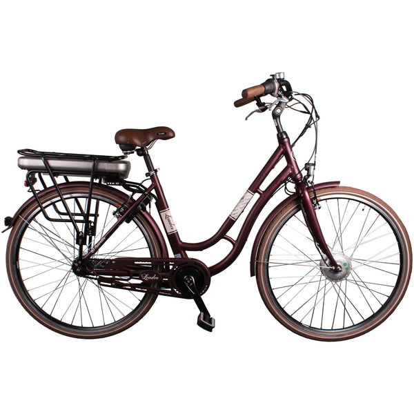 Leader Traveler 28 Inch 48 cm Dames 7V V Brake Bordeaux