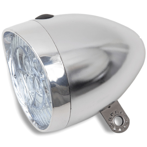 Lynx koplamp Retro batterij led 11 Lux chroom