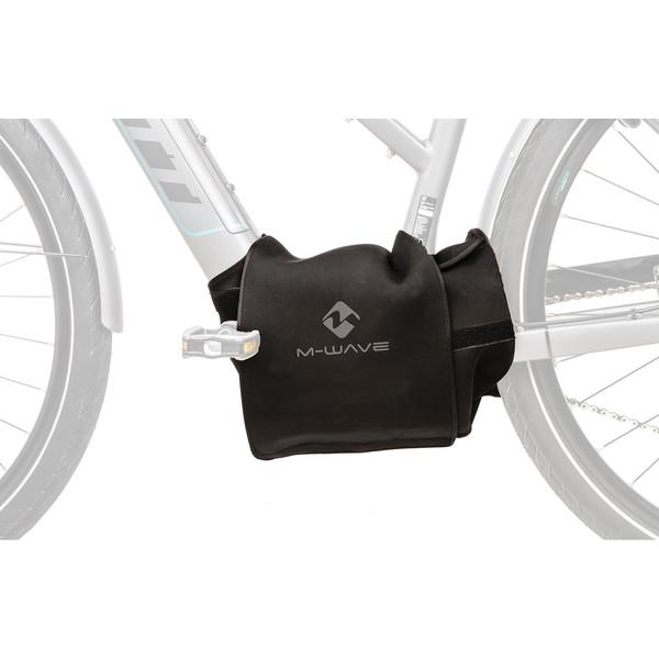 M Wave beschermhoes motor e bike 35 cm neopreen zwart