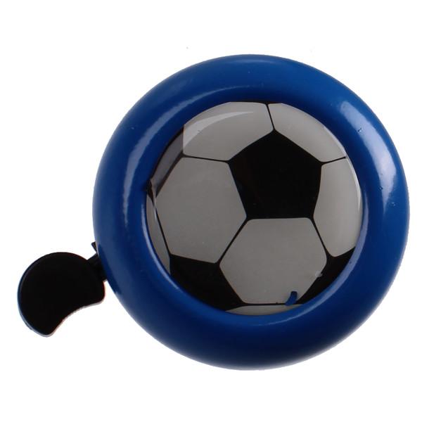 M Wave fietsbel Voetbal 53 mm staal blauw/zwart Onderdelen & Accessoires aanschaffen doe je het voordeligst hier