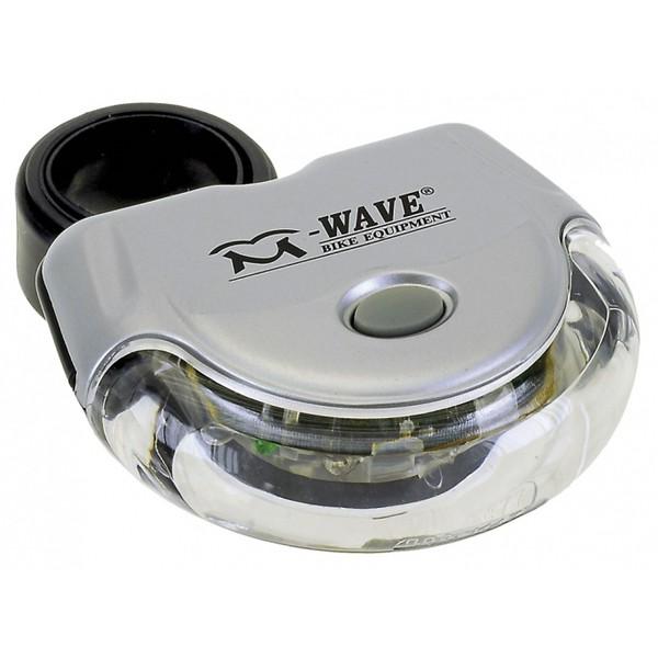 M Wave Helios K 5.1 Fietslamp Achter Zilver