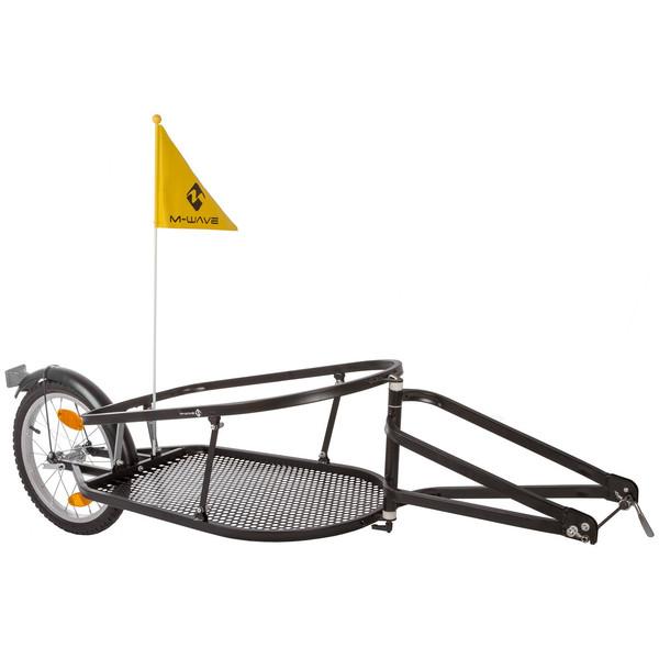 M Wave opvouwbare fietskar 16 Inch Unisex Zwart