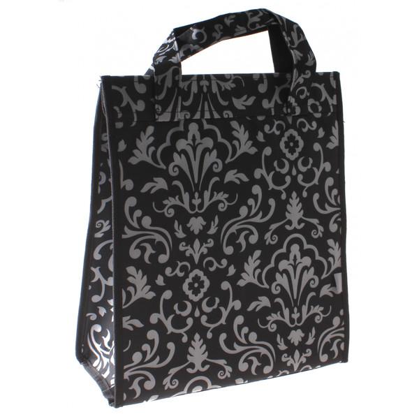 M Wave shopper Amsterdam 18 liter polyester zwart/wit Onderdelen & Accessoires aanschaffen doe je het voordeligst hier