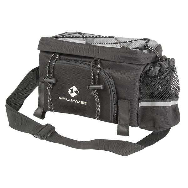 M Wave uitklapbare tas Amsterdam 16L zwart/grijs Onderdelen & Accessoires aanschaffen doe je het voordeligst hier