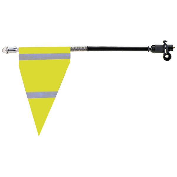 M Wave veiligheidsvlag geel 20 cm Onderdelen & Accessoires aanschaffen doe je het voordeligst hier
